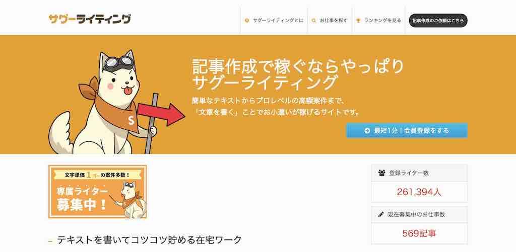 福岡で副業を始めるサイト|サグーライティング