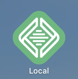 LocalbyFlywheel(ローカルバイフライホイール)のロゴ
